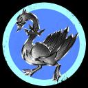 Silver Cockerel Blue Balls Inc